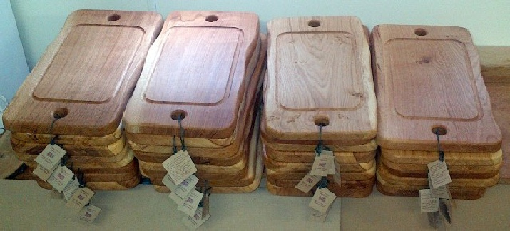 Large Oak boards with Grooves
