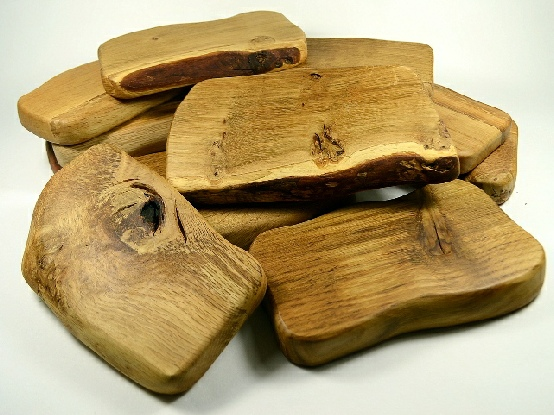Rustic Oak Snack Boards
