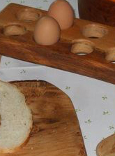 Solid Oak Rustic Tableware