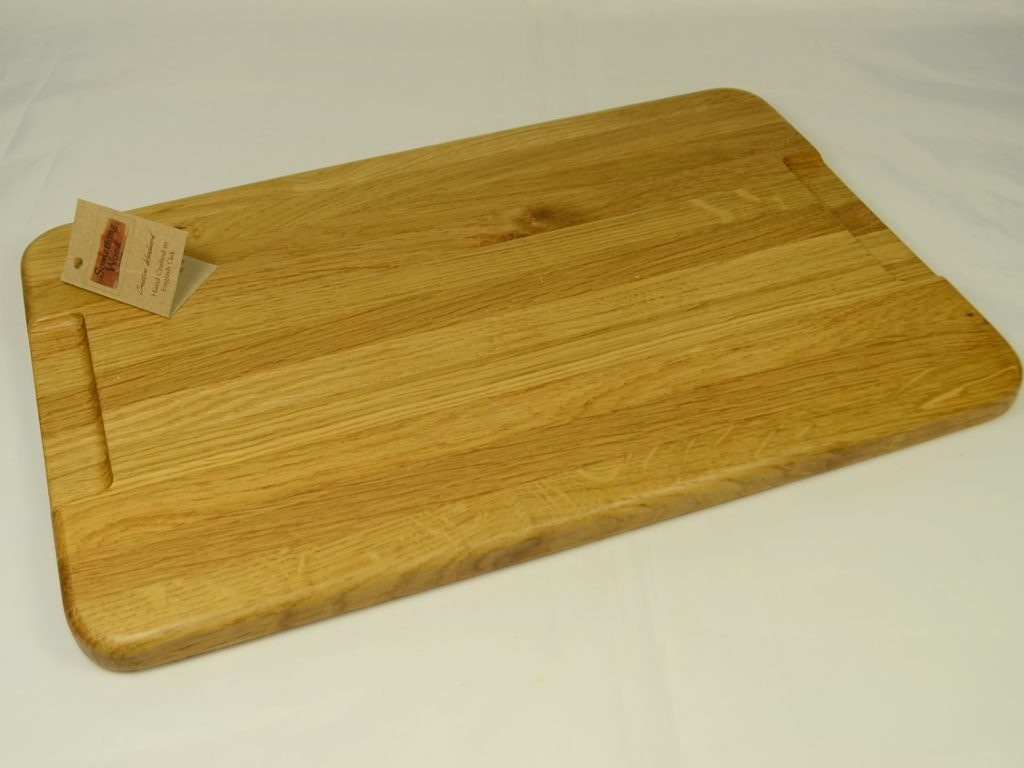 Oak Bread and Cake Board