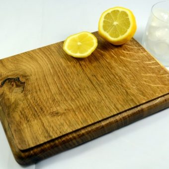 Oak Board for the Drinks Table