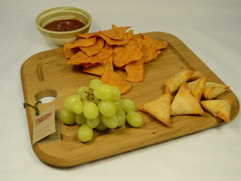 Oak Snacking and Sharing Board