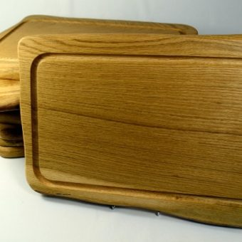 Rustic English Oak Platter