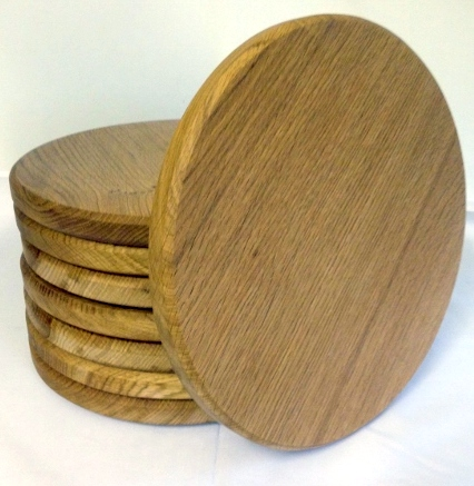 English Oak Round Boards