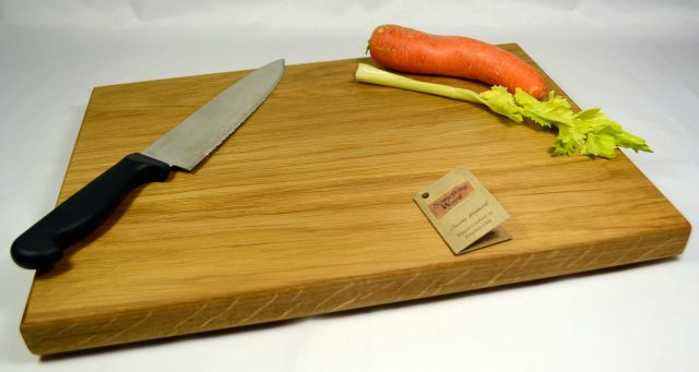 English Oak Chopping Boards with No Joins