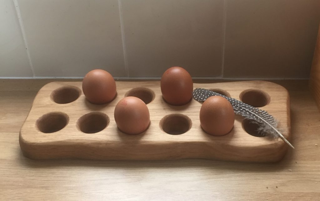 Farmhouse Egg Rack