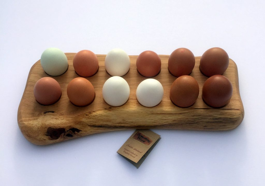 Farmhouse Style Egg Rack