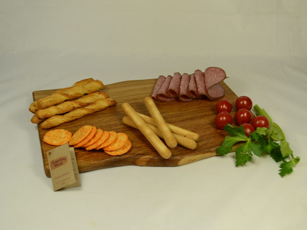 Unusual Dark Oak Platter
