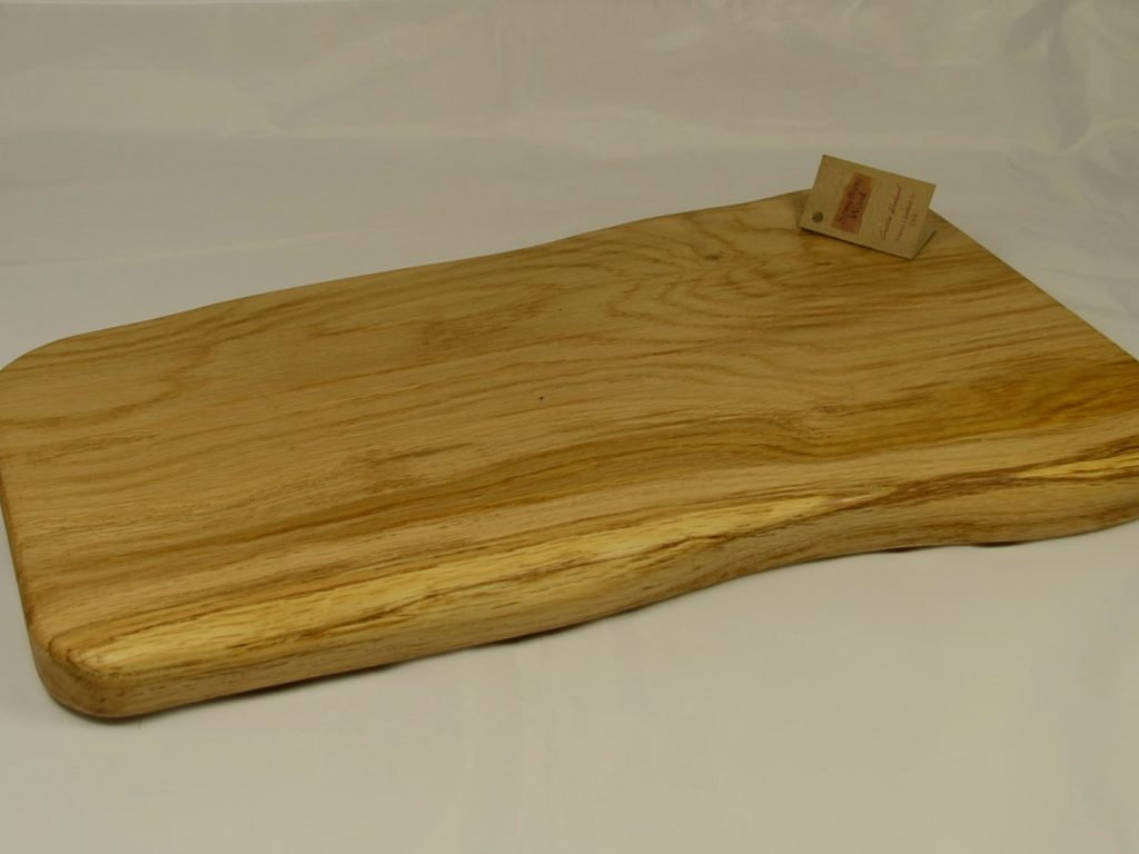 Solid Oak Serving Platter