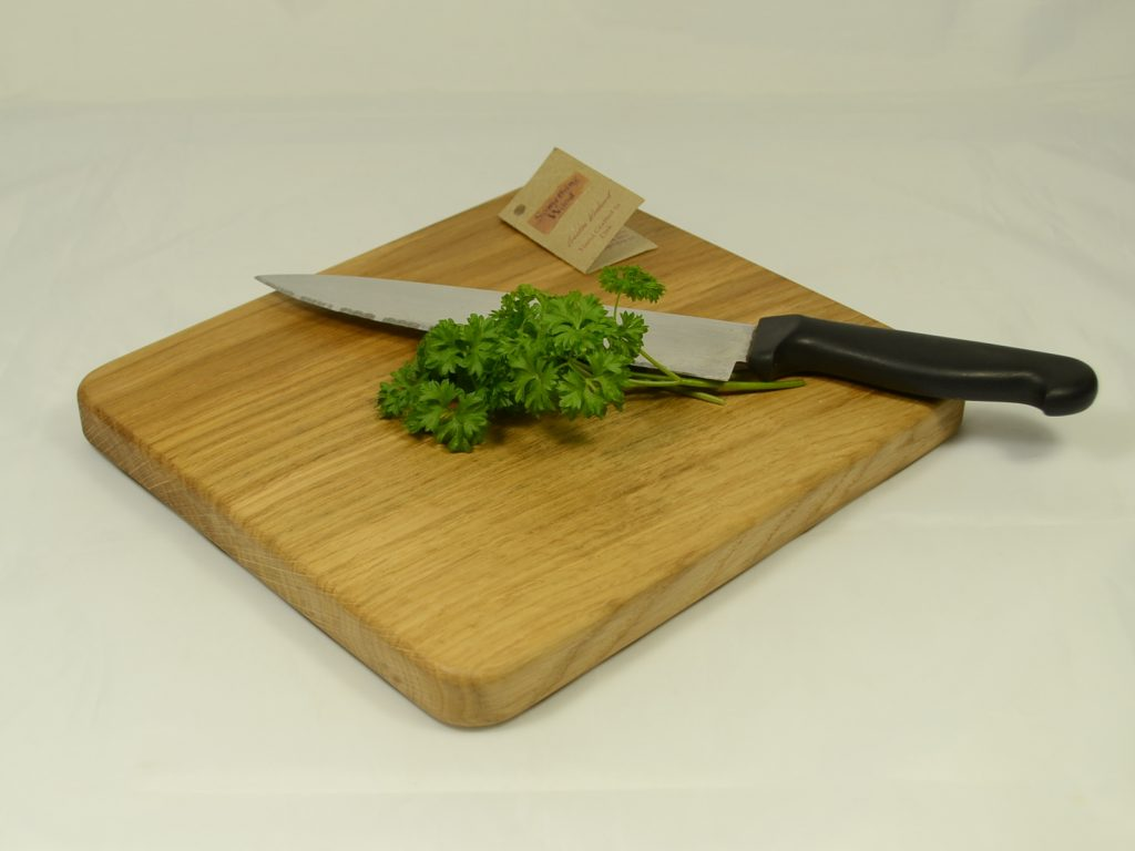 Almost Square Oak Chopping Board