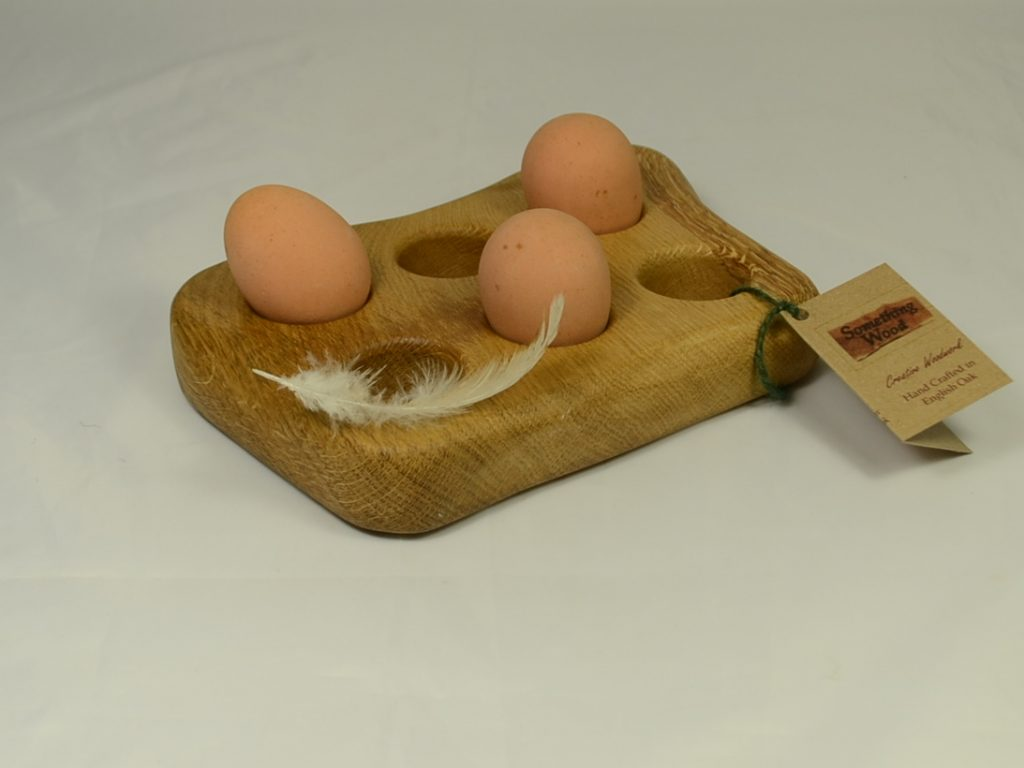 Rustic Egg Holder