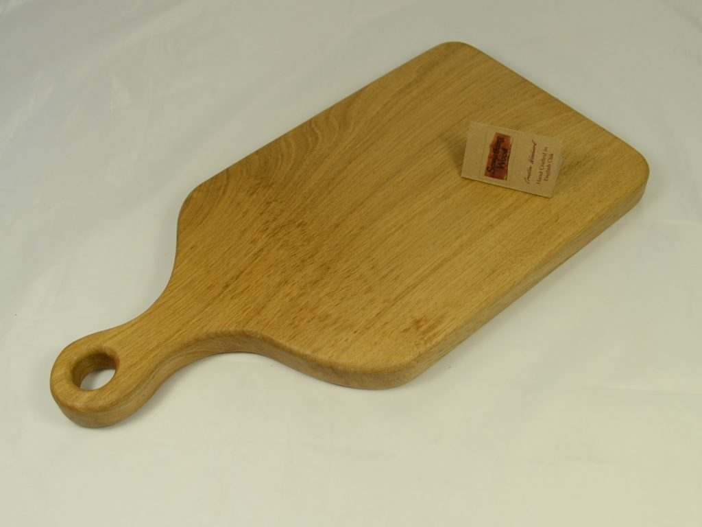 Natural Rustic Oak Serving Board