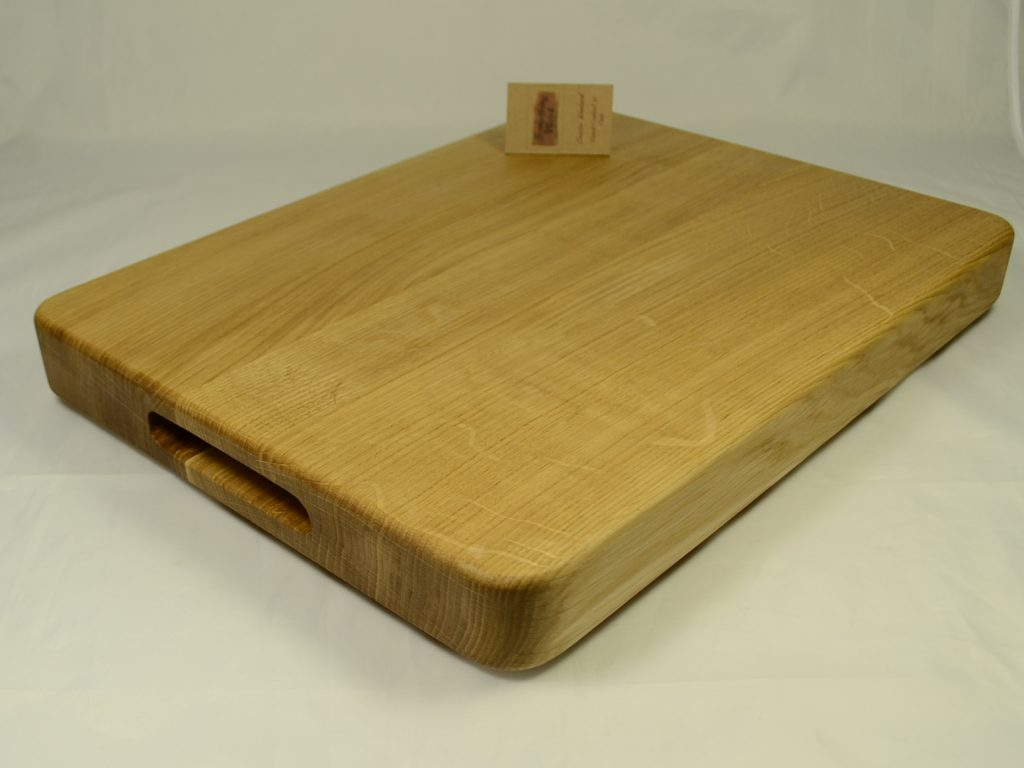 Chunky Oak Chopping Block