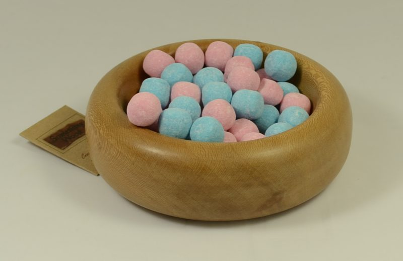Turned Beech Bowl witth sweets