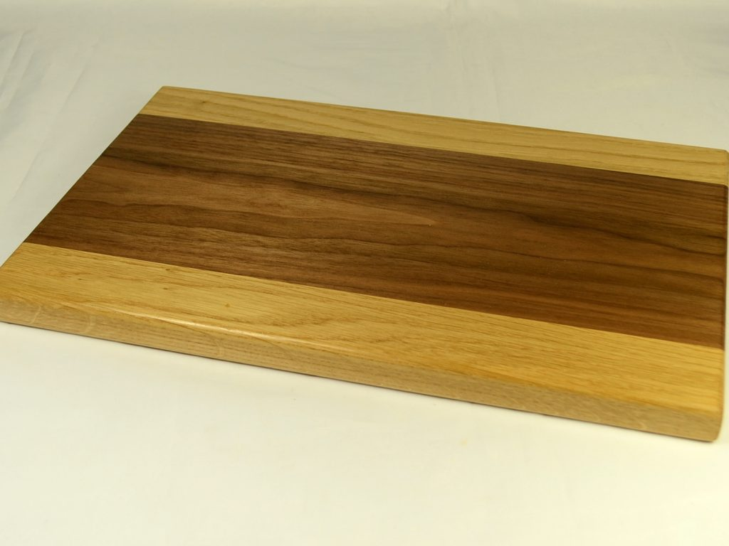 Walnut and Oak Bread Board
