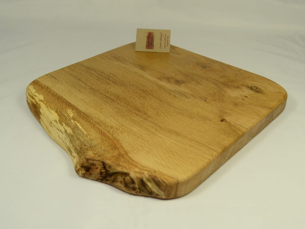 Rustic Oak Serving Board