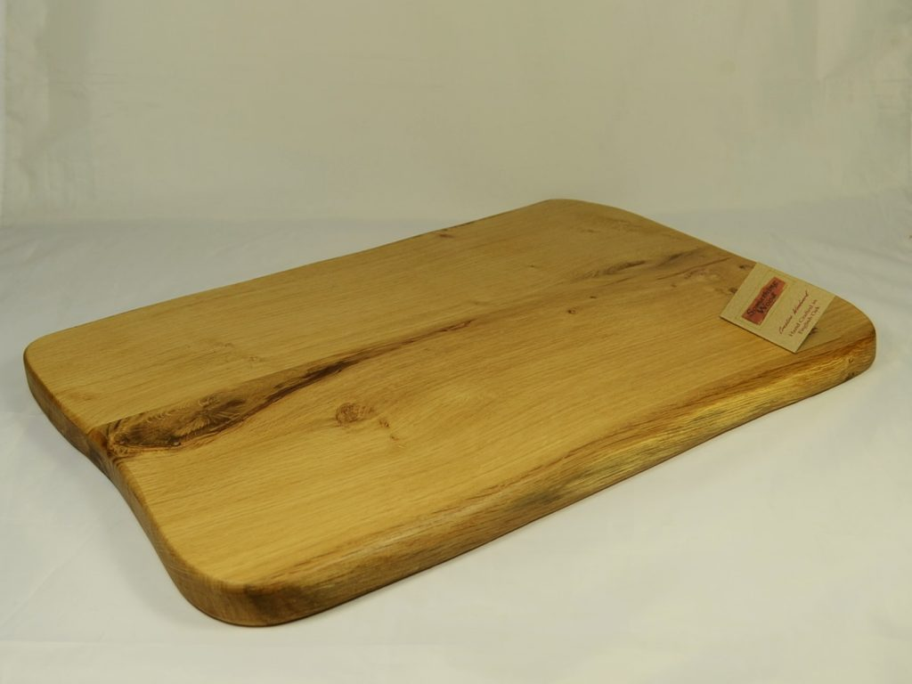 Large Oak Serving Platter