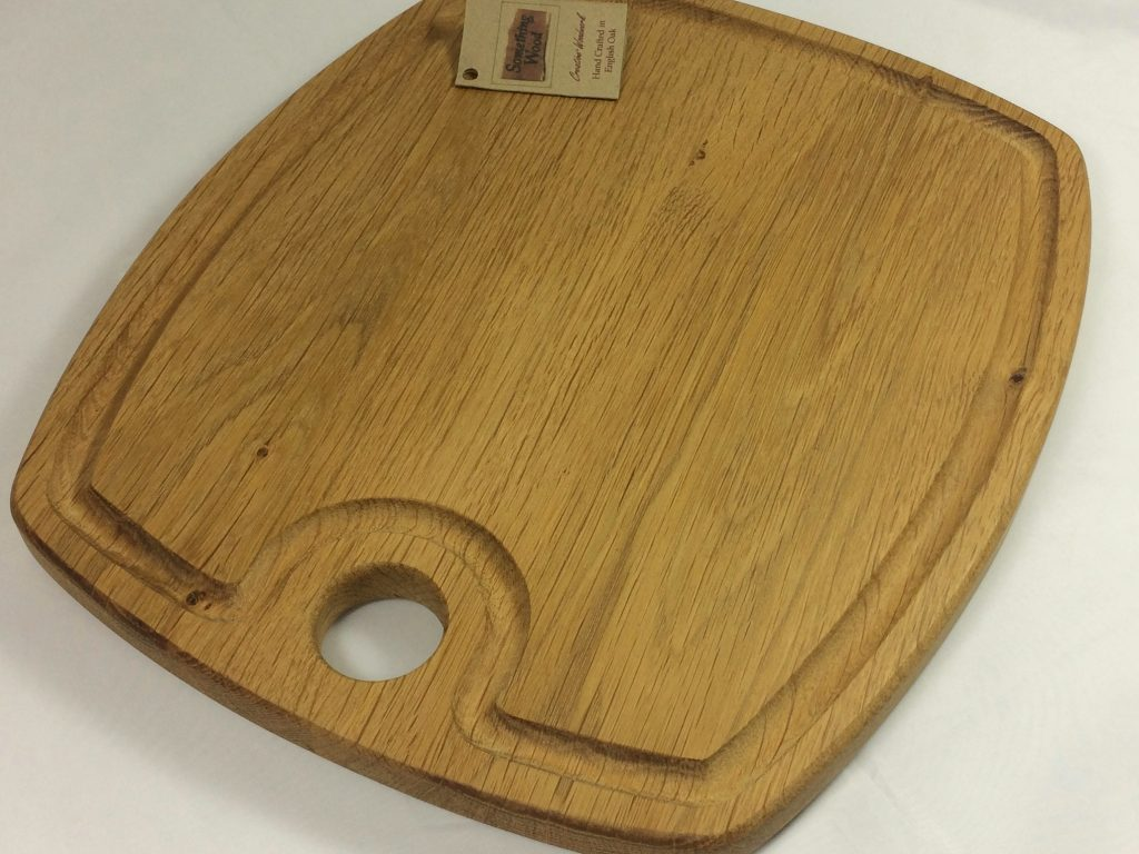 Snacking Board in Oak