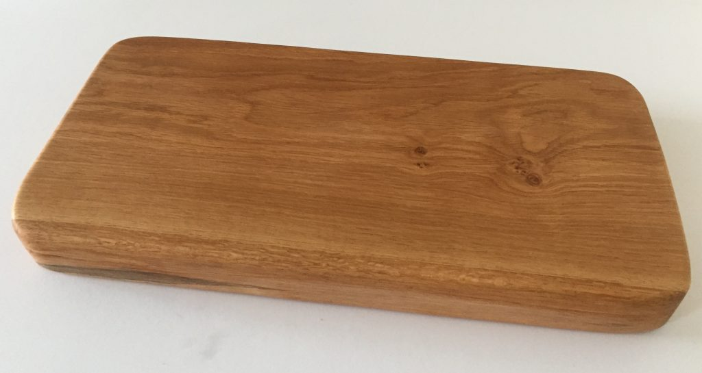 Solid English Oak Chopping Block